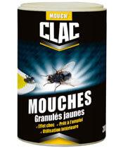Clac Mouches Granulés Jaunes