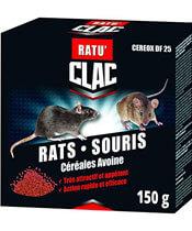 Clac Rats Souris Céréales Avoine