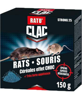 Clac Rats Souris Céréales Effet Choc