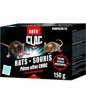 Clac Rats Souris Pâtes effet choc
