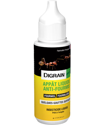 Digrain Appât Liquide Anti-Fourmis