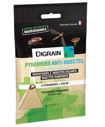Digrain Pyramides Anti-Insectes