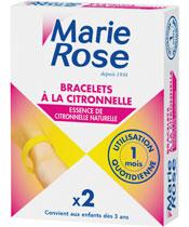 Marie Rose Bracelets à la Citronnelle