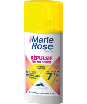 Marie Rose Spray Répulsif Anti-Moustiques