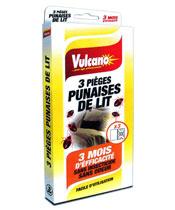 Vulcano 3 Pièges Punaises de Lit