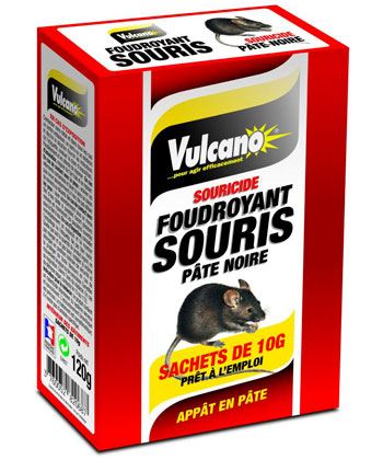 Vulcano Foudroyant souris