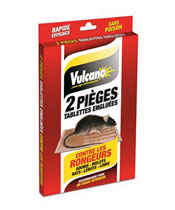 Vulcano Tablette engluée