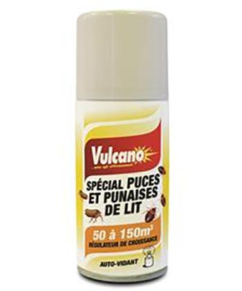 Vulcano Spécial Puces et Punaires de Lit