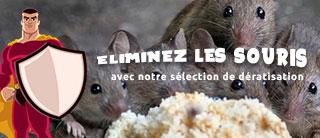 Eliminez les souris